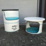 Sitzfass und Tischfass von Bob der Fassmeister