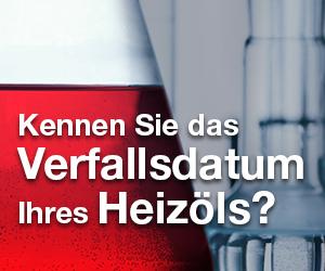Kennen Sie das Verfallsdatum Ihres Heizöls?