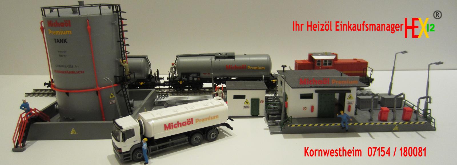 Michaöl Premium Tanklager Heizöl Einkaufsmanager Index HEX12