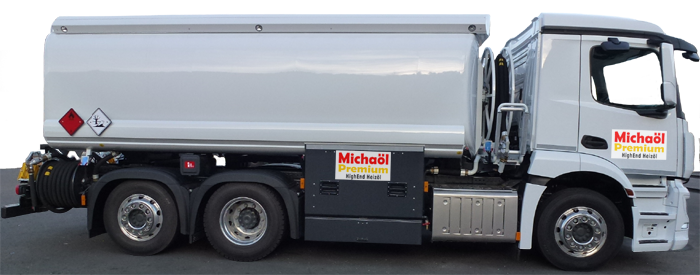 Michaöl Premium Heizöl Tankwagen